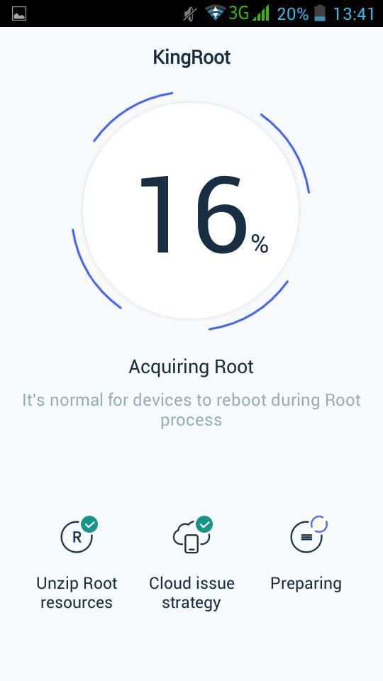 Melakukan proses root