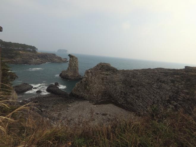 Oeldogae Rock, dilihat dari sudut lain...