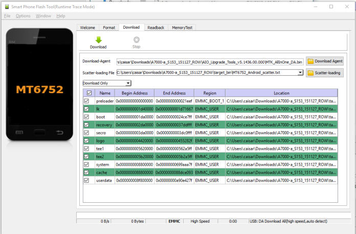 Sukses load Android Scatter