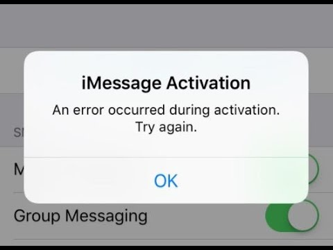 An error occured during activation. Try again